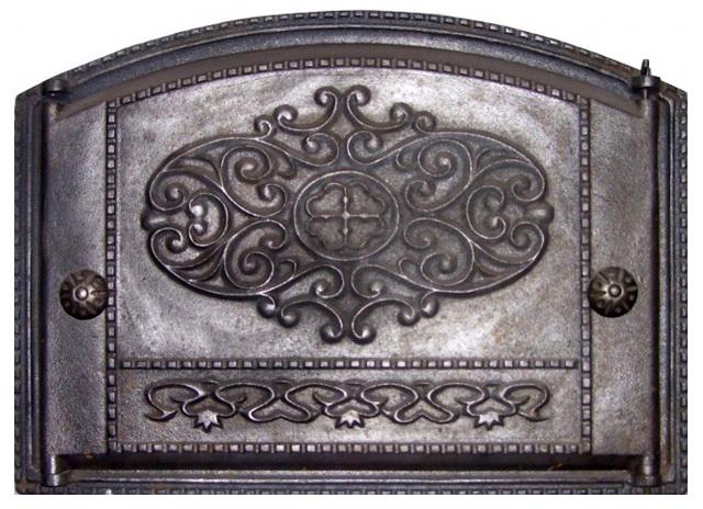 Дверца каминная ДК-1 крашенная