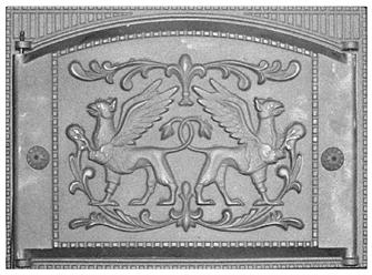 Дверка топочная каминная ДТК-2 RLK 529