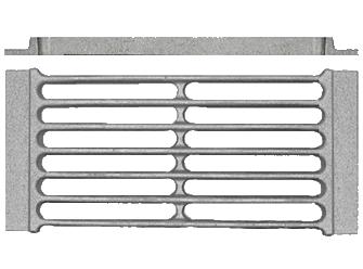 Решетка колосниковая каминная РД-1В