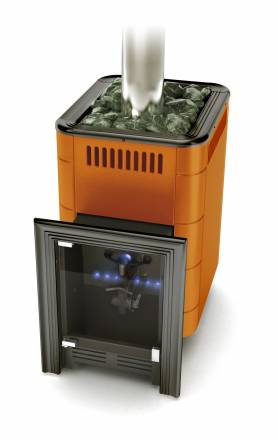 Уренгой (Газовая банная печь) Терракота