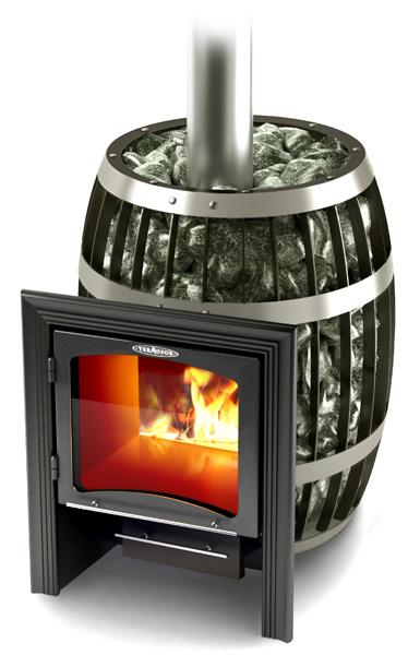 Саяны (Дровяная банная печь-сетка) VITRA